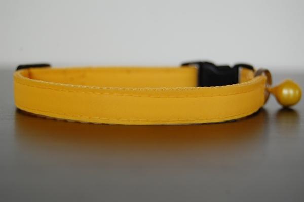 katzenhalsband-gelb