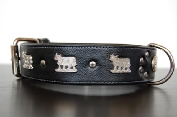 Appenzeller Hundehalsband schwarz