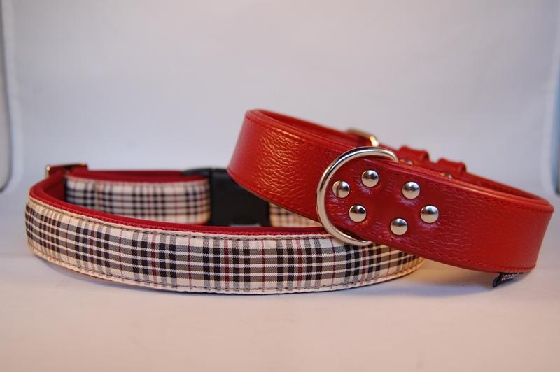 Lederhalsband 3 cm breit