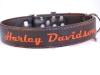 Lederhalsband Harley Davidson