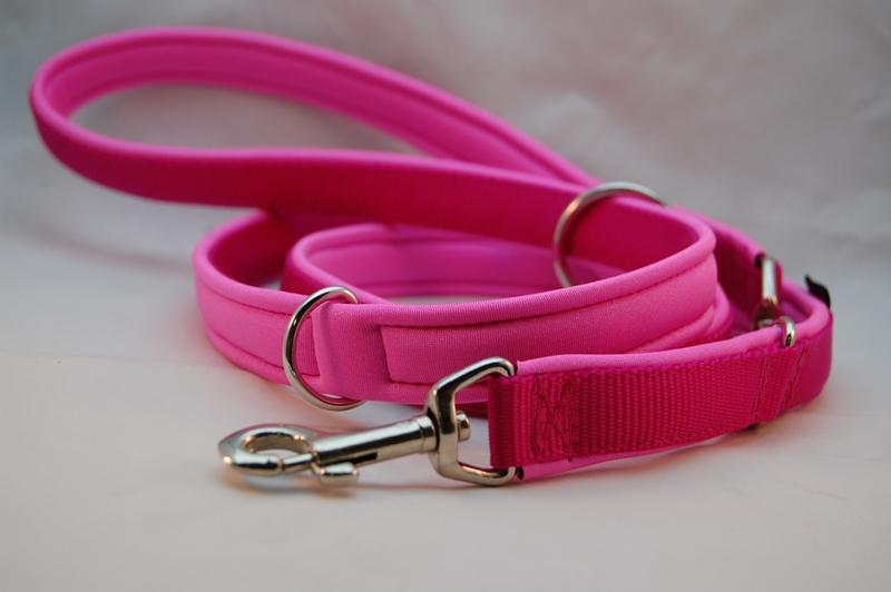 Hundeleine pink