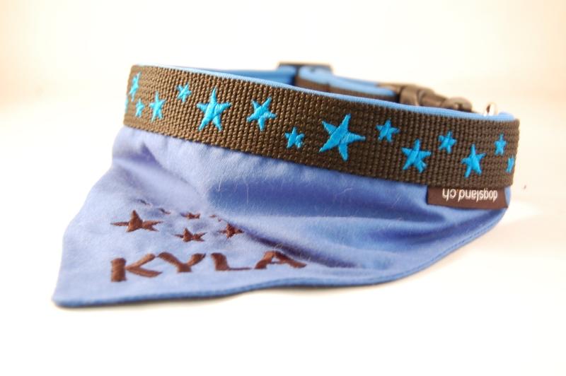 Hundehalstuch Sterne
