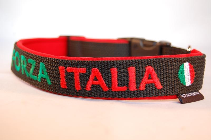 Hundehalsband Forza Italia
