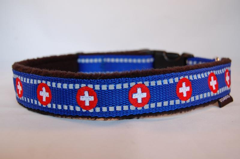 Hundehalsband Swiss