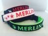 Hundehalsband mit Name Merlin