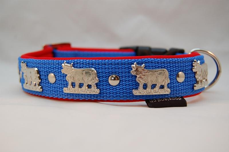 Appenzellerhalsband blau
