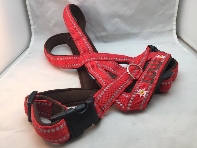 Reflex Hundegeschirr rot