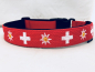 Preview: Hundehalsband Swiss Love