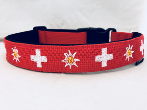 Hundehalsband Swiss Love